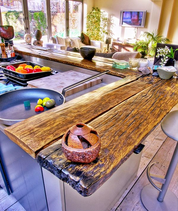 188 best Countertops images on Pinterest Butcher blocks, Kitchen - diy kitchen countertop ideas