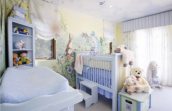 Nurturing Nursery Room Designs Top Eight Things For Your Baby