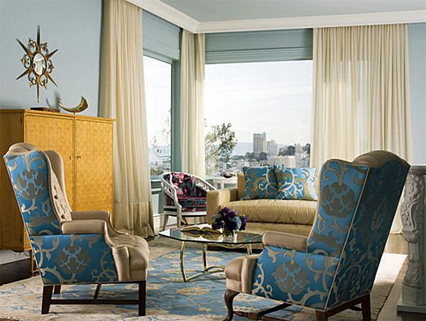 Victorian Eolo Living Room Velvet | Victorian Furniture