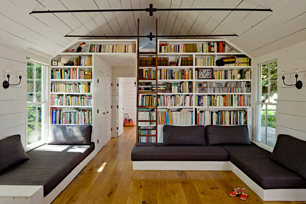 Creative Home Library Designs For a Unique Atmosphere - home library design