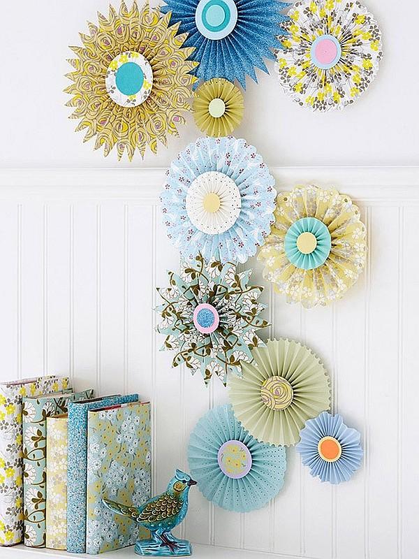 Minimal Decor Garden paper wall art crafts - Decoist