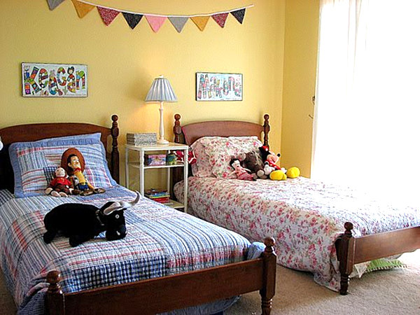Kid Spaces 20 Shared Bedroom Ideas - boy and girl bedroom ideas