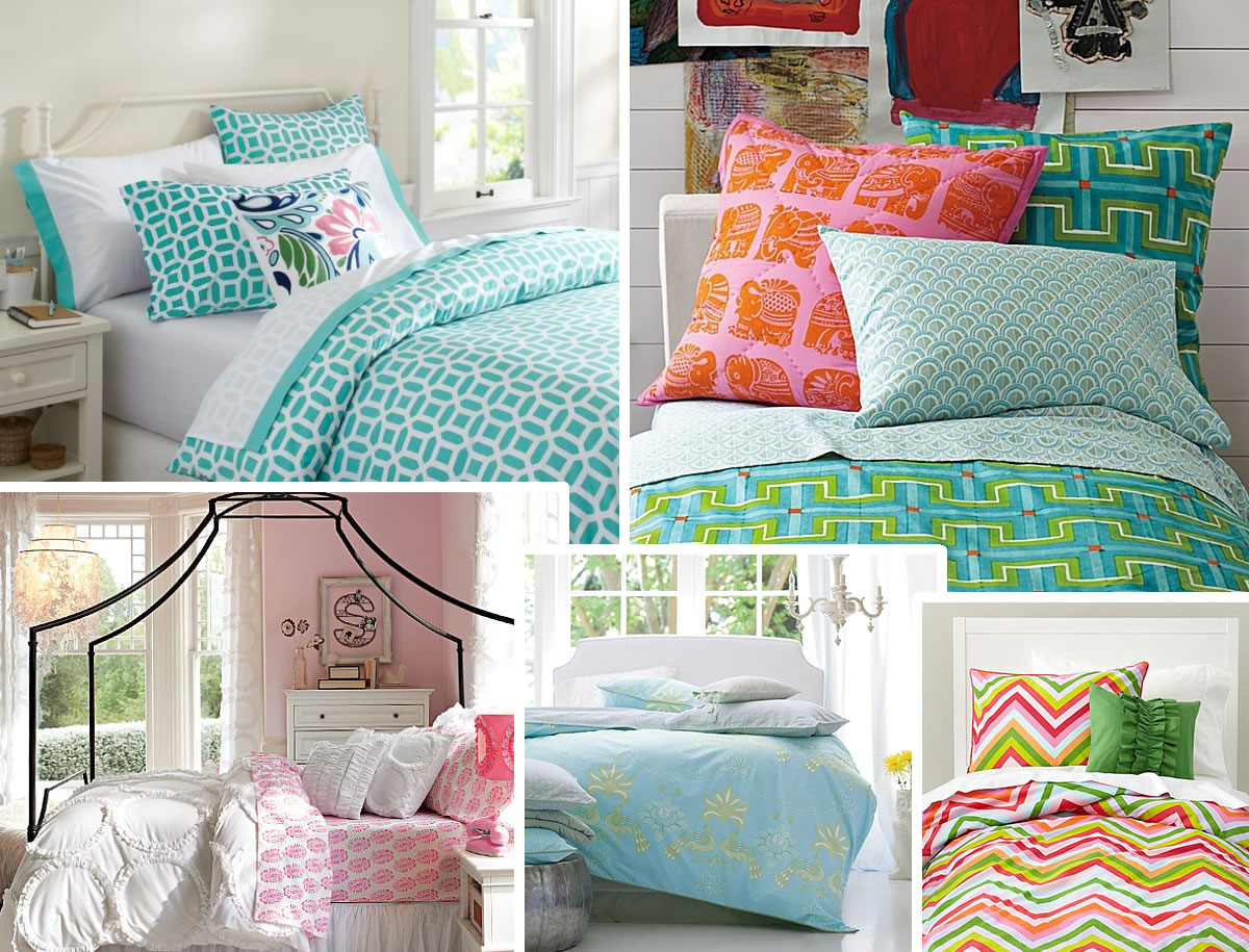 Bed For Teenage Girl Stylish Bedding For Teen Girls