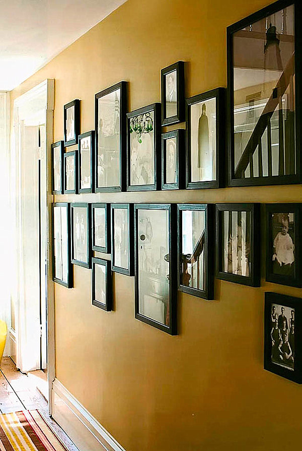 Helpful Hints for Displaying Family Photos on Your Walls Display