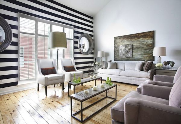 Living Room Paint Ideas Find Your Homeu0027s True Colors - black and white living rooms