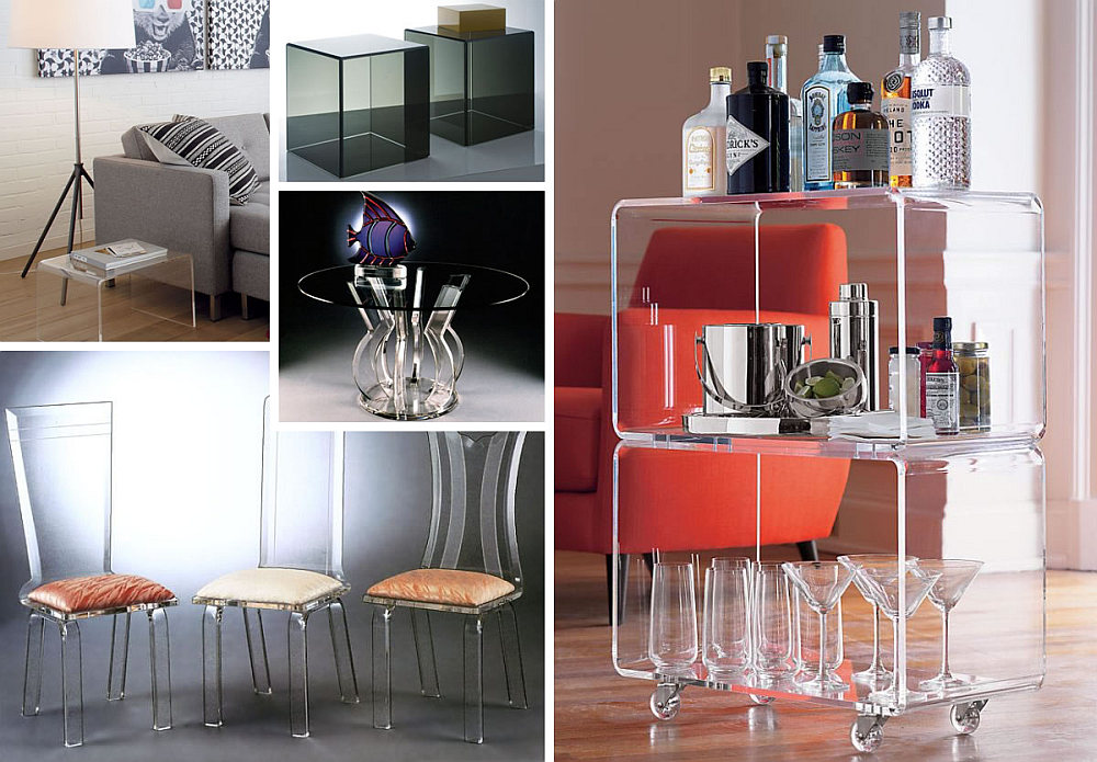 Muebles House More Acrylic Furniture Finds For A Sleek Style