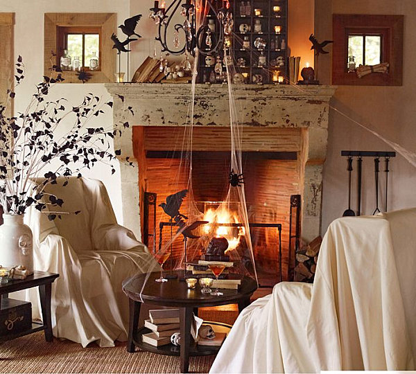 Cobwebs And Other Spooky Decorations Decoist