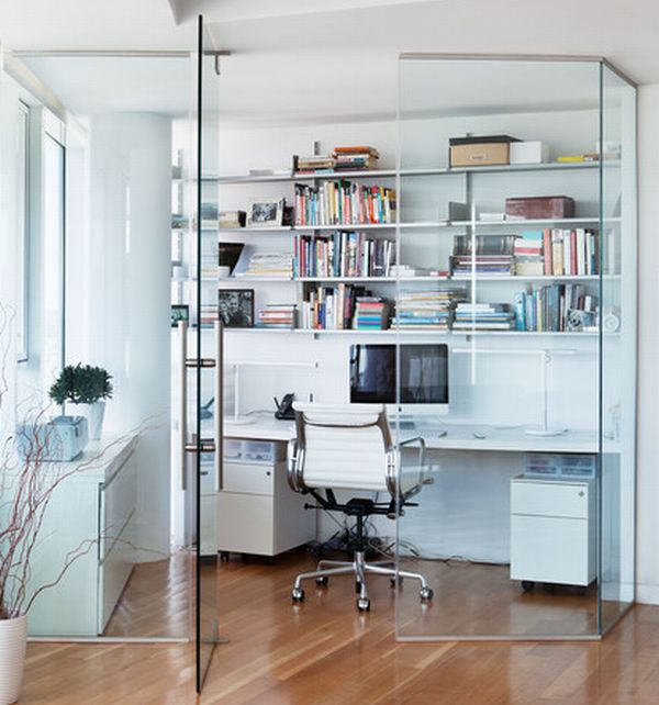 24 Minimalist Home Office Design Ideas For a Trendy Working Space - modern home office design