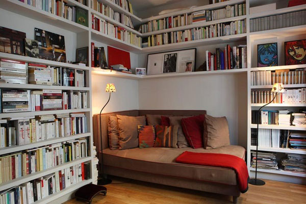 40 Home Library Design Ideas For a Remarkable Interior - home library ideas