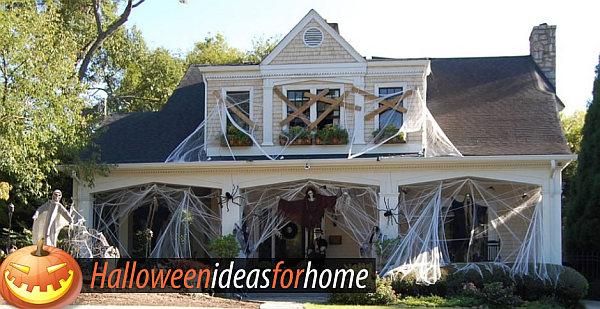 Upscale Halloween Decor Ideas For a Spooky Holiday Halloween ideas - halloween scene setters decorations