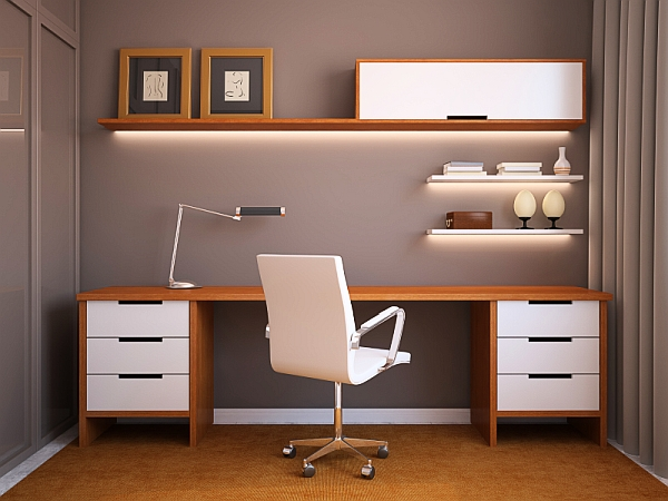 24 Minimalist Home Office Design Ideas For a Trendy Working Space - home office setup ideas