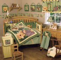 Jungle-themed Babies bedding to add unique character to ...