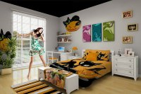 Kids bedroom decor for Halloween - Decoist