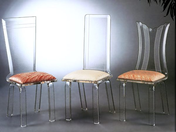 Chair Chaise More Acrylic Furniture Finds For A Sleek Style