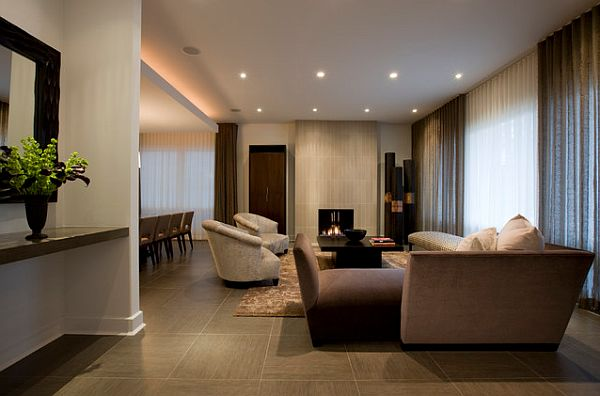 Tile Flooring Design Ideas For Every Room of Your House - tile floors in living room