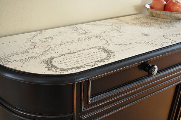 Wallpaper One Piece New World 3d How To Use Old Maps In Home Decor