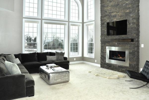 Greige Living Room