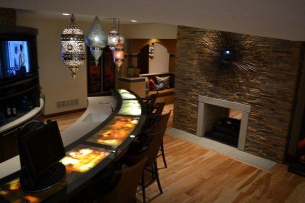 40 Inspirational Home Bar Design Ideas For A Stylish Modern Home - bar ideas for living room