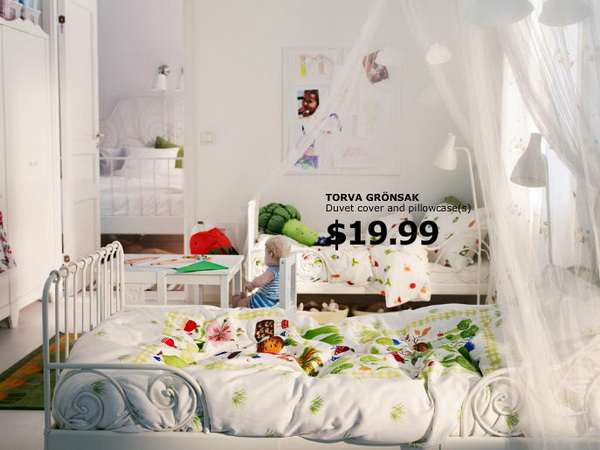 Ikea Crib Bedding Ikea Kids Rooms Catalog Shows Vibrant And Ergonomic Design