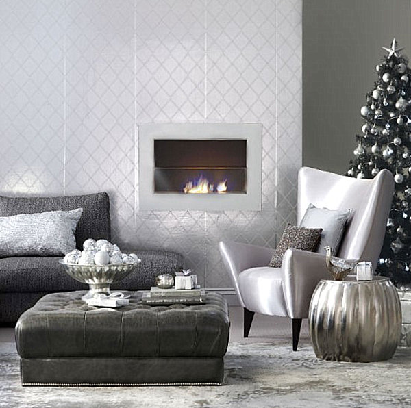 Wohnzimmereinrichtung Modern Modern Christmas Decorating Ideas For Your Interior