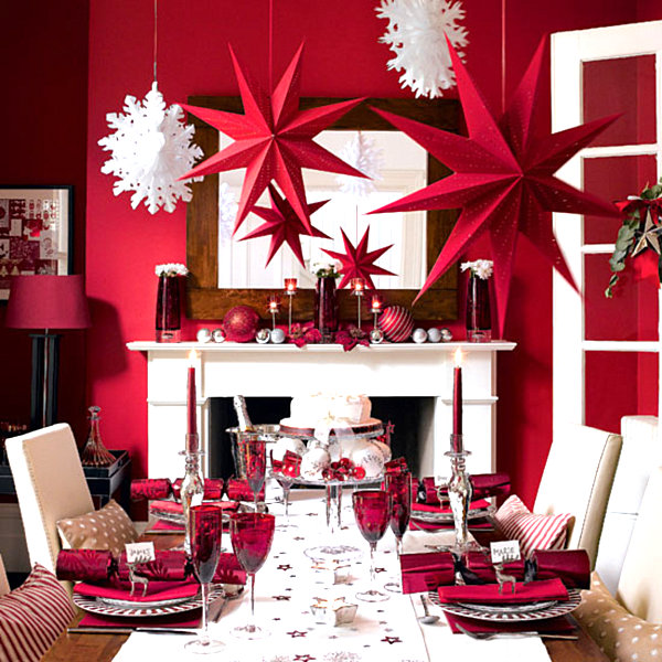 Modern Christmas Decorating Ideas for Your Interior - contemporary christmas decorations