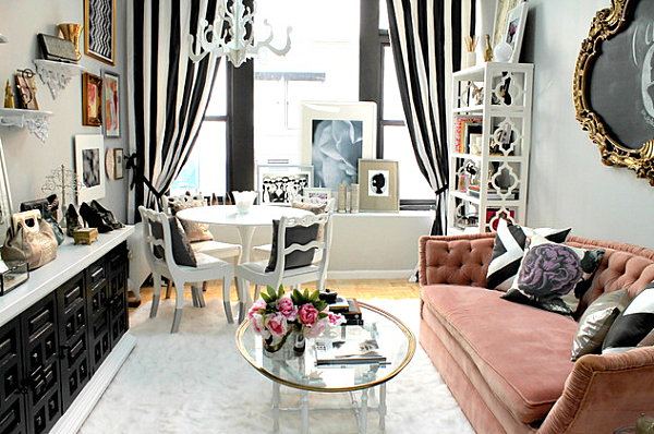 How to Decorate a Small Living Room - living spaces dining room sets
