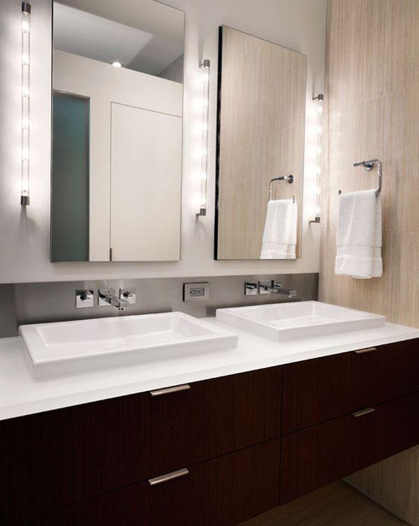 22 Bathroom Vanity Lighting Ideas to Brighten Up Your Mornings - bathroom vanity mirror ideas