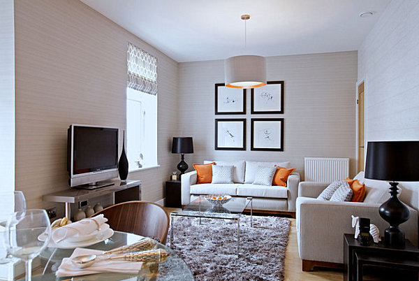 How to Decorate a Small Living Room - small scale living room furniture