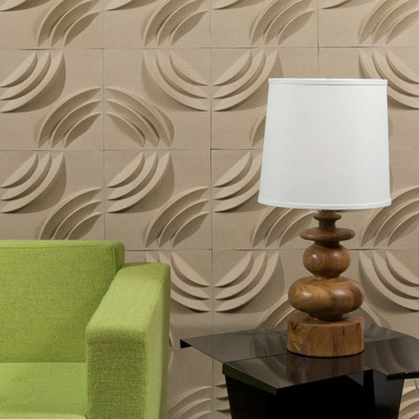 Paperforms 3d Wallpaper Tiles Ripple Walls Designs For A Modern Abode