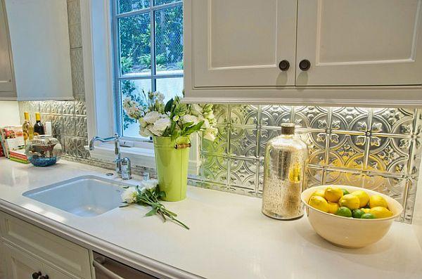 pressed tin kitchen backsplash adding pressed tin home decor benefits tin backsplash elliott spour house