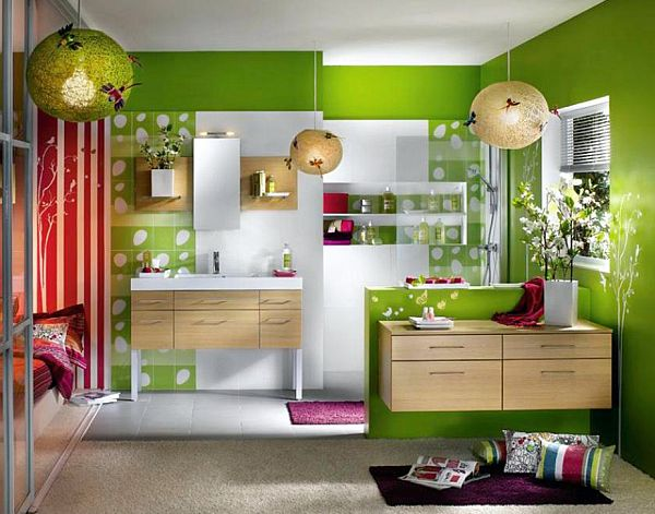 How to decorate your home with color pairs