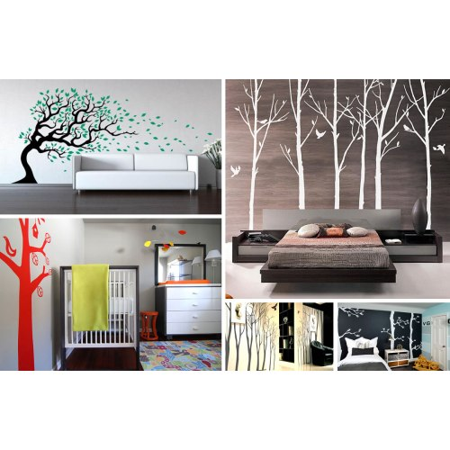 Medium Crop Of Tree Wall Decal