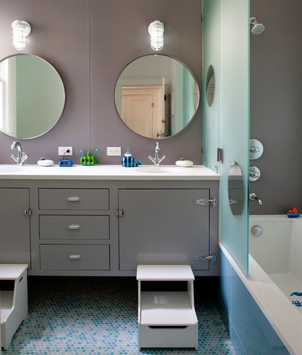 23 Kids Bathroom Design Ideas to Brighten Up Your Home - boy bathroom ideas