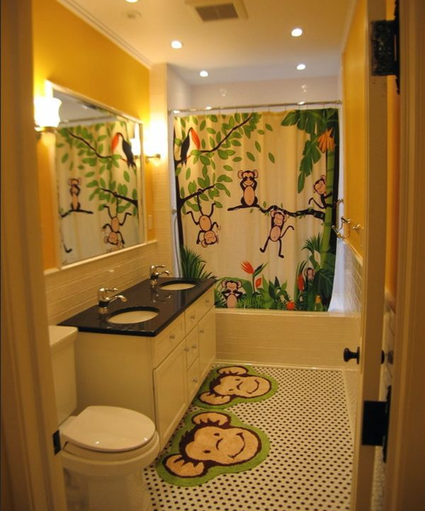 23 Kids Bathroom Design Ideas to Brighten Up Your Home - bathroom themes ideas