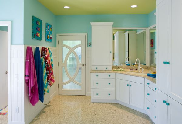 Cute Stylish Small Girl Wallpaper 23 Kids Bathroom Design Ideas To Brighten Up Your Home