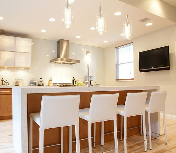 Pendant Lighting For Kitchen Creative Ways To Use Color In Your Dull Kitchen