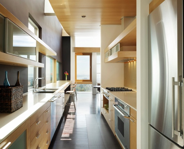 Galley Kitchen Design Ideas That Excel - galley kitchen design