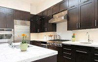 96+ Contemporary Kitchens With Dark Cabinets ...