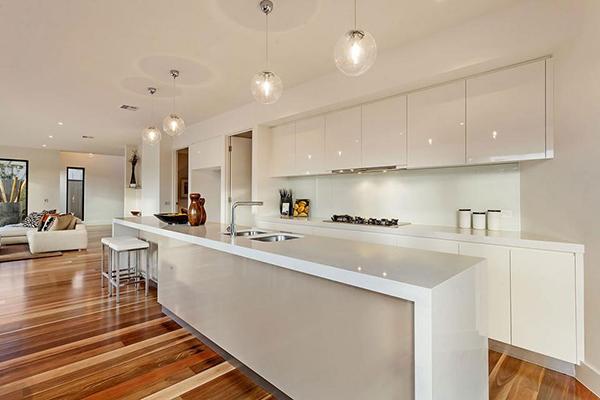 55 Beautiful Hanging Pendant Lights For Your Kitchen Island - modern kitchen lighting ideas