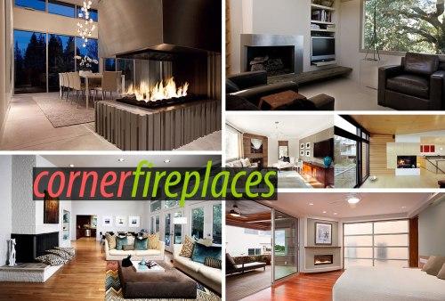 Medium Of Corner Fireplace Ideas