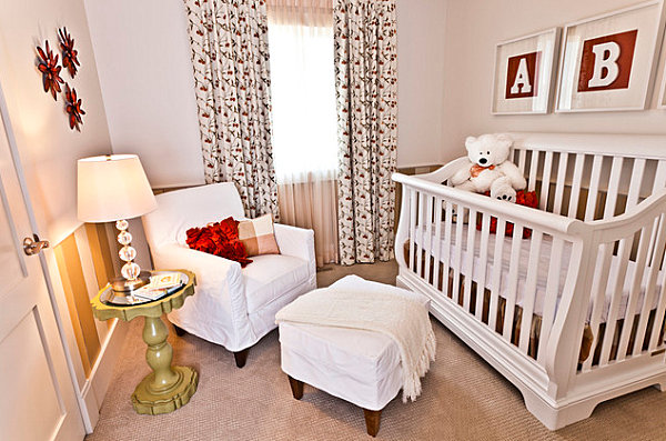 Wallpaper Ideas For Baby Girl Nursery Tips For Decorating A Small Nursery
