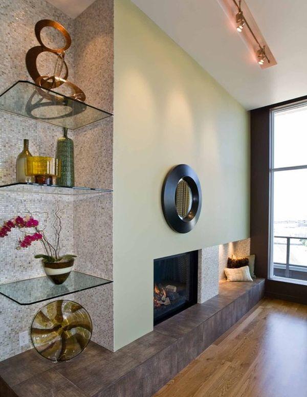 15 Corner Wall Shelf Ideas To Maximize Your Interiors - living room corner shelf