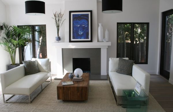 Inspiration Hollywood 34 Stylish Interiors Sporting the Timeless - living room chaise lounge