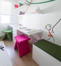 29 Kids Desk Design Ideas For A Contemporary And Colorful ...