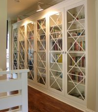 15 Inspiring Bookcases with Glass Doors for Your Home