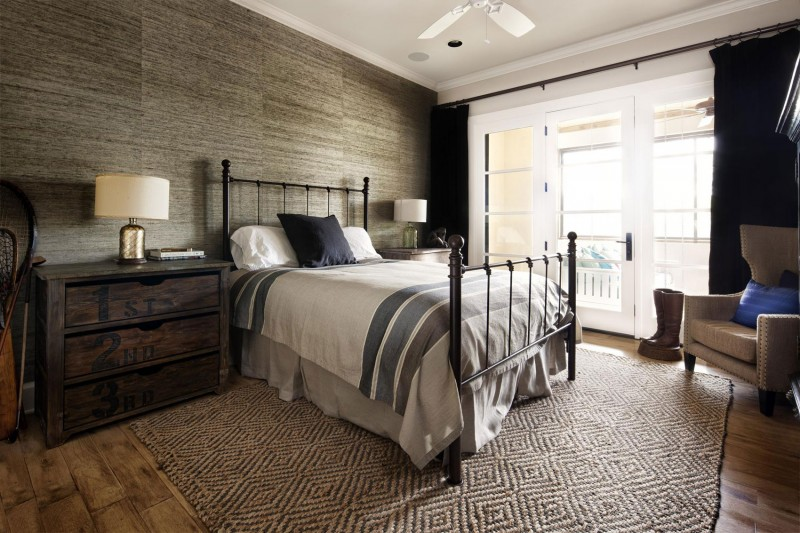 Bett Vintage Rustic Texas Home With Modern Design And Luxury Accents