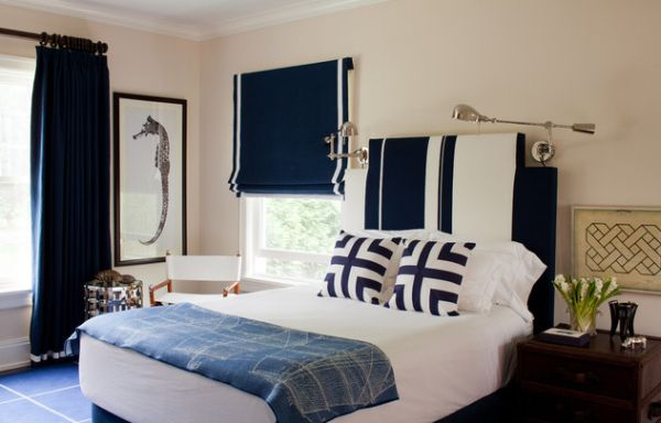 30 Cool And Contemporary Boys Bedroom Ideas In Blue - navy blue bedroom ideas