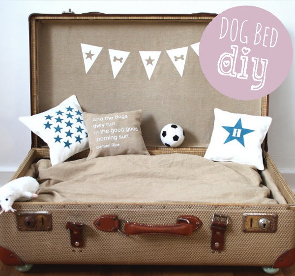 Couchtisch Spot Cool Diy Dog Beds With A Fancy Twist
