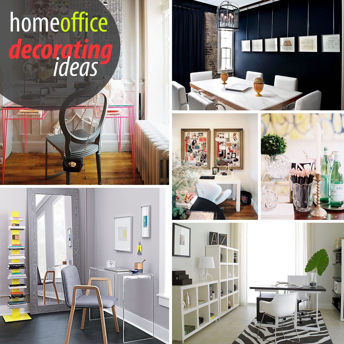 Home Office Decor Ideas Pictures Creative Home Office Decorating Ideas