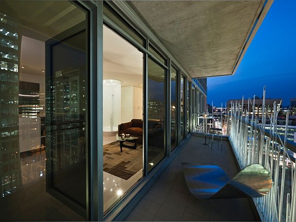 Eclairage Exterieur Pour Terrasse Modern Penthouse Apartment Showcases Smart Usage Of Space